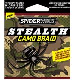 8lb Stealth Camo Braid, 125 yds
