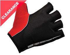 Men's Pulse Summer Cycling Trackmitts (Red)