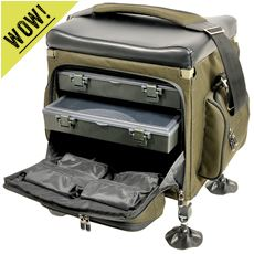 Compact Tackle Seat Box