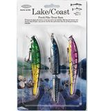 Pack of 3 Lake/Coast Plugs