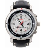 E-Compass Stainless Steel Watch