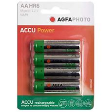 AA Ni-MH 1300 Rechargeable Batteries (4 pack)