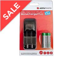 AccuCharger with 2 x AA 1300 Batteries