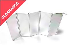 Folding Aluminium Windscreen