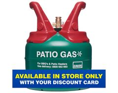 Patio Gas 5kg Refill