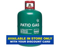 Patio Gas 13kg Refill