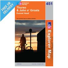 Explorer Map OL451 Thurso & John O' Groats