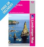 Landranger Map 12 Thurso and Wick (John O&#39; Groats)