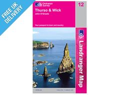 Landranger Map 12 Thurso and Wick (John O' Groats)