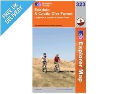 Explorer Map OL323 Eskdale and Castle O'er Forest