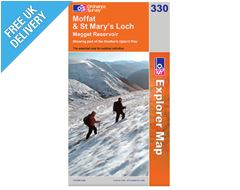 Explorer Map OL330 Moffat and St Mary's Loch