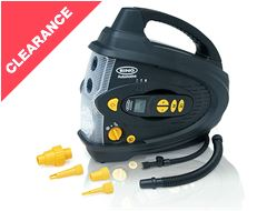 Cordless Digital Air Compressor + Inflator & Deflator