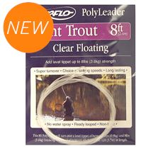 Floating Trout Leader- 8ft