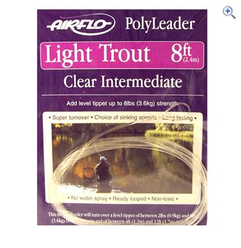 Airflo Intermediate Trout Leader- 8ft