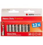 Zinc Carbon AAA Batteries (12 pack)