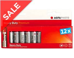 Zinc Carbon AA Batteries (12 pack)