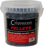 Drilled Marine Halibut Pellets (8mm)