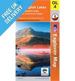 Explorer Active OL4 Lakes North West Waterproof Map Book