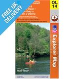 Explorer Active OL14 Wye Valley Waterproof Map Book