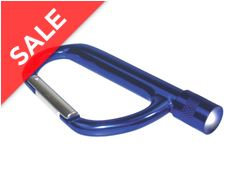 Carabiner with LED Light Key Ring