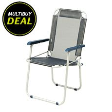 Comfort Camp Aluminium Folding Chair