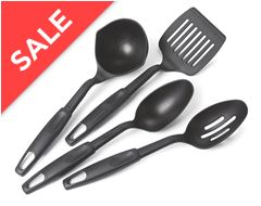 4-Piece Camping Utensil Set