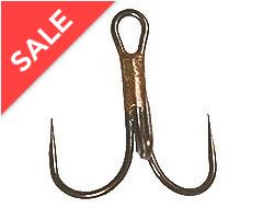 Carbon Semi Barbless Hooks- Size 10S- 10 Pack