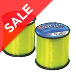 Seastrike Fluro Yellow 4oz reel, 25lb