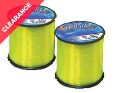 Seastrike Fluro Yellow 4oz reel, 30lb