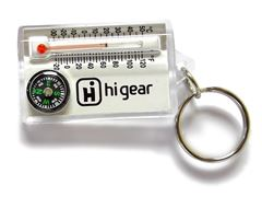 Keychain Thermometer/Compass