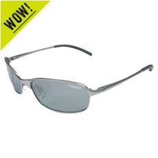 Rio Polarised Sunglasses (Gunmetal/Sintec Green)