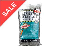 Marine Halibut Pellet 14mm 1kg Fishing Carp Bait