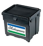 Beta Plastic Seatbox, Black