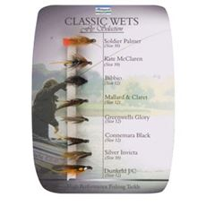 Number 4 Classic Wets Fly Selection
