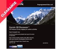 GB Discoverer Scotland - OS Mapping microSD card