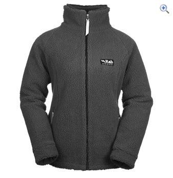 Rab Double Pile Women's Fleece Jacket - Size: 14 - Colour: Grey