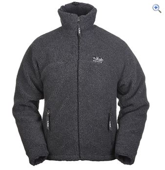 Rab Double Pile Mens Fleece Jacket  Size XXL  Colour Grey