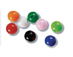 Assorted 5mm Beads x 100