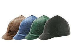 Velveteen Riding Skull Cap Cover