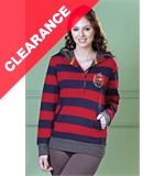 Jessie Women's Striped Hoody