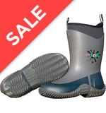 Kid's Icicle Wellington Boots (Charcoal)