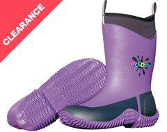 Kid's Icicle Wellington Boots (Violet)