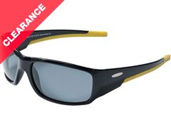 Lago Sunglasses (Black/Yellow/Sintec Smoke)