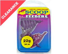 Scoop Feeders, 22g (2 pack)