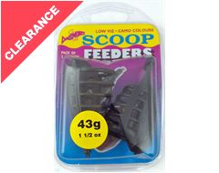 Scoop Feeders, 43g (2 pack)