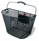 Front Wire Basket with Quick Release Bracket