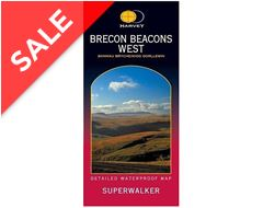 Brecon Beacons (West) Superwalker Map