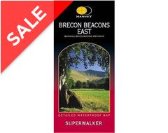 Brecon Beacons (East) Superwalker Map