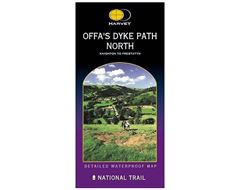 Offa's Dyke Path, North (Knighton to Prestatyn) Map