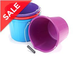 Mould Flex Stable Bucket (14 litre, Purple)